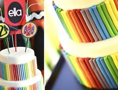 Crayola Crayons bday cake