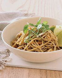 Cheap Summer Eats: Red Curry Peanut Noodles