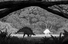 Jiangjunosaurus junggarensis by sinammonite on DeviantArt