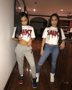 luhhh their style (SiAngie Twins✔ outfit/style) Pinterst Twin Outfits, Cute Swag Outfits, Tomboy Outfits, Teen Fashion Outfits, Teenager Outfits, Dope Outfits, Outfits For Teens, Trendy Outfits, Girl Outfits
