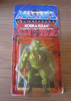 KOBRA KHAN MASTERS UNIVERSO SPAIN SPANISH HE-MAN MOTU EN BLISTER (1985) in Juguetes, Figuras de acción, TV, cine y videojuegos | eBay