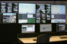 Philadelphia Traffic operations Center | Barco video wall and collaboration software