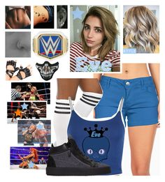"""""""🌟 Eve Élodie 🌟 Eve & Mickie vs Becky & Naomi 〰LATE〰"""" by kimberly34 ❤ liked on Polyvore featuring L'Agent By Agent Provocateur, Celebrity Pink, Eres, WearAll and Giuseppe Zanotti"""