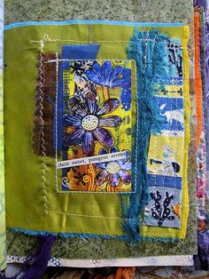Ro Bruhn - fabric page by ro_bruhn, via Flickr