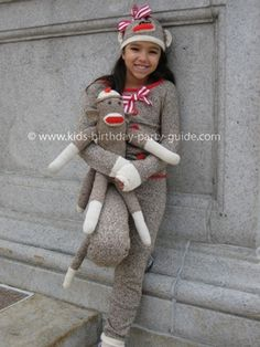 Sock Monkey Costume. (this is awesome ~Stephe)  sc 1 st  Pinterest & monkey costumes for toddlers | Good Costume Ideas u2013 Disney Dress Up ...