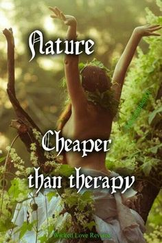 Yes it is! Go out there and get you some nature and in heavy doses as needed! Cheaper than drugs, too!