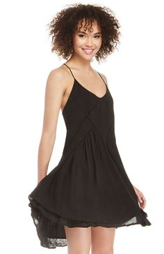 DailyLook: Three Of Something Tranquility Dress in Black XS - S