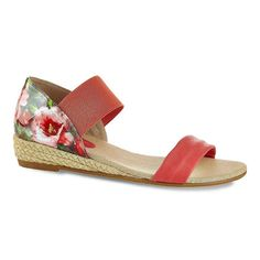 Henry Ferrera Party Women's Espadrille Wedge Sandals, Size: