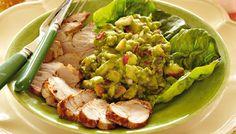 Kold sommermørbrad med avocadosalat