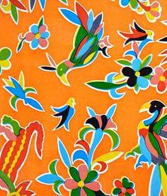 http://www.onlinefabricstore.net/oilcloth-fabric/orange-aztec-oilcloth-fabric-.htm