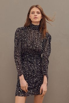 Open Back Dresses, Short Dresses, Lace Dress, Ruffle Blouse, Feminine Dress, High Collar, Fashion Stylist, Dress Backs, World Of Fashion