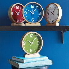Wood Mantle Clocks | West Elm