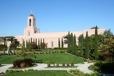 Newport Beach, CA, LDS Temple. I toured this temple as a young adult.