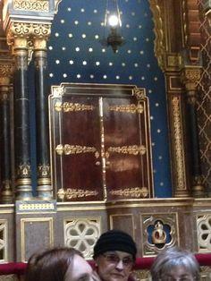 Spanish Synagogue Prague, corner of Dusni and Vezenska streets