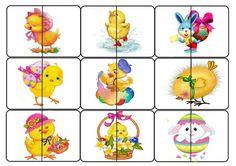 Скачать можно СКАЧАТЬ Работа авторская. Перепост запрещен! Puzzles, Easter, Games, Preschool, Puzzle, Easter Activities