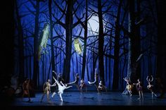 Karen Kilimnik's Stage Backdrops for the Paris Opera Ballet's Psyché by Alexei Ratmansky