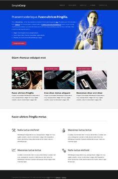 The Best Free Dreamweaver Mobile Friendly Web Templates Images On - Dreamweaver ebay template