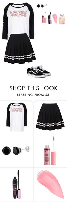 """Vans"" by alexis48-1 ❤ liked on Polyvore featuring Vans, Charlotte Russe, Bourjois and Kevyn Aucoin"