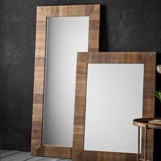 Blake Wooden Leaner Free Standing & Wall Mirror
