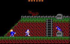 Ghosts 'n Goblins (Elite / Capcom / Japan Capsule Computers, 1986)