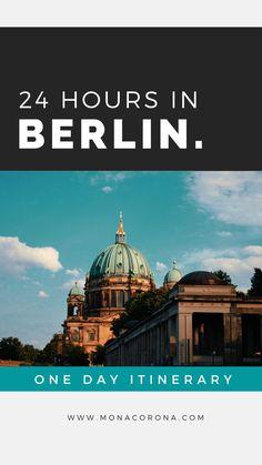 24 hours in Berlin | Berlin, Germany Europe | Berlin in one day | 1 day Berlin Itineray | Berlin travel guide | Berlin Travel tips | Berlin hotels | berlin restaurants | best things to do in Berlin | Where to go in Berlin | Where to stay in Berlin | Where to eat in Berlin | Berlin wall | Berlin meuseums | Berlin travel guide | Berlin attractions | Berlin nightlife | Berlin nightclubs | Berlin photo spots | What to do in Berlin | one day Berlin itinerary #berlin #germany #traveltips Austria Travel, Germany Travel, Berlin Travel, Germany Europe, Berlin Germany, Europe Travel Outfits, Europe Travel Guide, Europe Destinations, European Road Trip