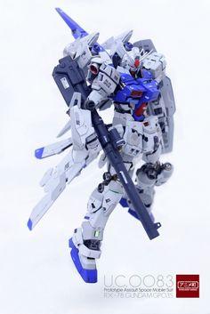 POINTNET.COM.HK - MG 1/100 Prototype Assault Space Use Gundam RX-78 GP03S + Weapon System