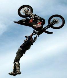 FMX #Motocross #moto #sport #sky #ciel #speed #speedway