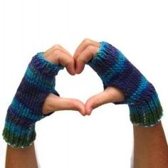 Knifty Knitter Fingerless Glove, Arm and Hand Warmer Patterns