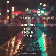 Do it now! #speak #english by profesoraingles