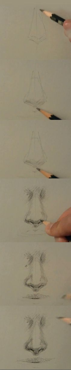 How to draw nose. Life saver!! Always struggled to draw a nice nose on portraits!!