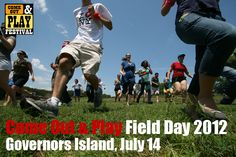 Come Out And Play Field Day 2012