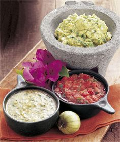 EPICUROUS | Guacamole with Roasted Tomatillos -- fun exercise: try ...