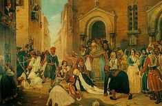 Σε αυτόν τον πίνακα απεικονίζεται η δολοφονία του Ιωάννη Καποδίστρια.Είναι ένας πίνακας του Διονύσιου Τσόκου και σε αυτόν μπορούμε να δούμε πεσμένο κάτω στο έδαφος τον Καποδίστρια που μόλις ξεψυχάει, αφήνοντας τις τελευταίες του λέξεις στους ανθρώπους που έχουν μαζευτεί γύρω του.Εκείνοι φαίνονται πολύ αναστατωμένοι και δύο άτομα προσπαθούν να τον κρατήσουν.Όλο αυτό το σκηνικό τοποθετείται σητν πλατεία της πόλης,έξω από μια εκκλησία,μέσα από την οποία βγαίνει πολύς κόσμος για να δουν το…