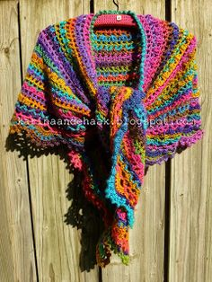 châle multicolore