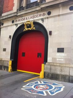 The ghostbusters firehouse - FDNY Ladder 8 in New York, NY