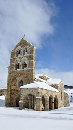San Salvador de Cantamuda, Castilla y León, España