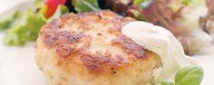 Εύκολα μπιφτέκια ψαριού Camembert Cheese, Dairy, Recipes, Food, Rezepte, Essen, Recipe, Yemek