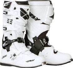 MAVERIK Fly Racing Motocross MX Enduro Bike Boots Black//Flo Orange