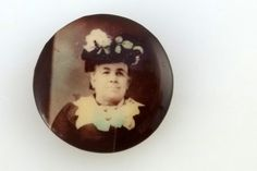 Antique Victorian Mourning or Memorial Pin by SmallTownVintageShop, $24.00