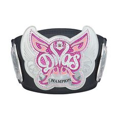 Introducing the NEW WWE Divas Championship Replica Title Belt! This highly detailed replica title which features the updated WWE logo unveiled in is produced using a high-quality simulated leather strap with metal plating.