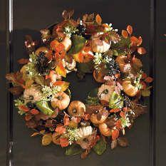 Grandin Road - Fall Decor - Fall Wreaths - Fall Decorations