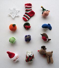 micro crochet christmas collection 24 pdf crochet patterns - Advent calendar full set of 24 patterns Pdf Patterns, Crochet Patterns, Crochet Advent Calendar, Christmas Characters, Dk Weight Yarn, Crochet Christmas, Christmas Ornament, Christmas Ideas, Christmas Tree