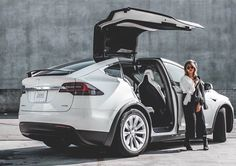 Tesla ranked most innovative brand in the US Eco Friendly Cars, Top Luxury Cars, Tesla Model X, Flying Car, Tesla Motors, Mustang Cars, Car Ford, Ford Focus, Car Show