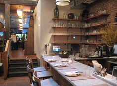 I met with Graylind Design (designers behind Pastis & Baltazar) at this new restaurant, il Buco. Great Italian restaurant and well worth a trip...