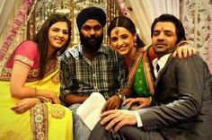 On set of #ipkknd (too funny not to post, Baruns face LoL)
