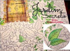 Técnica para colorir #Jardim secreto