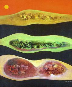 Max Ernst - Descente Dans la Vallee, 1949