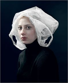 We love this work by Hendrik Kerstens. Yes it's a plastic bag! #greetingsfromnl