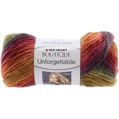 Coats Yarn Red Heart Boutique Unforgettable Yarn, Polo