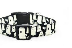 Glow in the Dark Ghost Dog Collar Halloween Dog Collar par dusidog